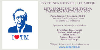 Myśl społeczno-polityczna Tadeusza Mazowieckiego