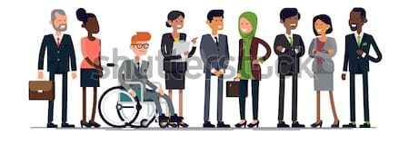 business-characters-vector-lineup-diverse-450w-657125929
